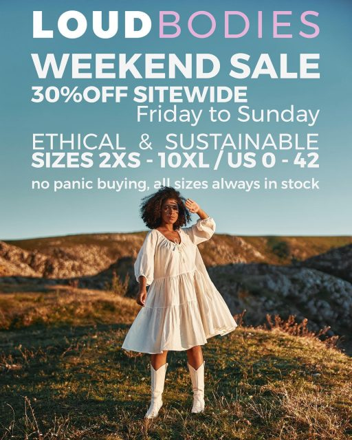 Our final stretch of sales is here. From today on until Sunday, we have up to 30% off sitewide, for both the Summer and Autumn collections. I would like to reiterate an insist on the fact that we do not want to encourage panic or impulse buying. We put a lot of love into making clothing for you and we'd like the items to be loved by you for a long time, because it's no use shopping sustainable if you wear something a couple of times & then throw it away.  Also there's no need to stress about buying your size - all our sizes are permanently in stock. We make each item per order both because we are a small brand and do not have the resources to make stocks in all our items, but also because it's a great way of reducing waste. Excess stock is one of the ways the fashion industry pollutes the most.  None of our items will sell out either - we have steady fabric providers and the worst thing that can happen is if a certain fabric runs out before we reach your order (if we receive more orders than expected for items in that fabric), it might take us a bit longer to process your order as we need to wait for another fabric bolt to reach us. But three weeks ago we ordered new bolts for every fabric we were running lower on, so we should be good on this front as well.  So please feel free to take your time browsing, no stress or anxiety inducing conditions here, you don't need to rush to place your orders because there is no way we'll run out of anything you like.  With that said, thank you so much for choosing to shop with us. It's been such a tough year, but your constant support throughout has kept us afloat and I am deeply, profoundly grateful.  Looking forward to keep making your orders with love and respect for both you and the environment.