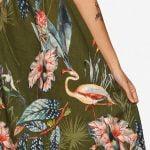 Olive Flamingo
